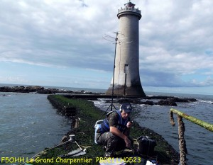 Portable en mer, Grand Charpentier Lighthouse