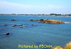 Vue de l'estuaire de la Vilaine