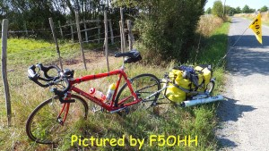 Sortie Vélo QRP, 5 watts
