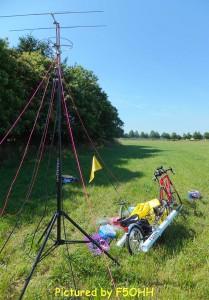 Installation QRP, VHF, UHF et HF