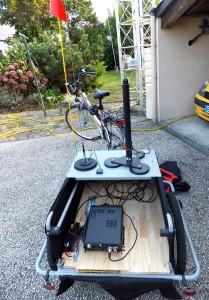 Préparation remorque radio