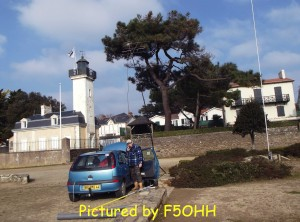 Activation du Phare de Pornic
