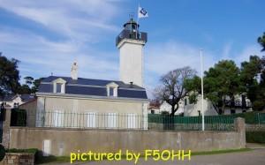 Vue du phare côté port