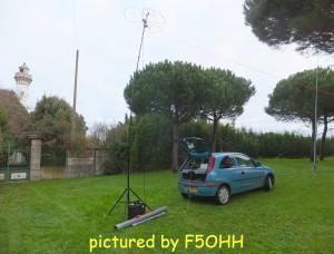 Phare de Kerlédé et antennes