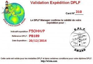 Certificat de validation de kerlédé