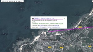 Position APRS lors de l'activation