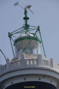 La lanterne actuelle, l'ancienne a été détruite par le feu en 1935