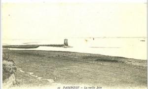 Remarquez l'avancée de la tour sur la Loire Maritime