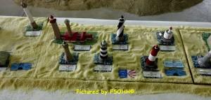Des phares locaux, Le Grand Charpentier, La Banche, le Four du Croisic...