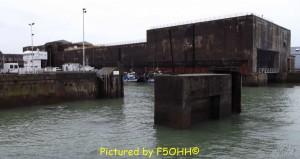 L'ancienne écluse fortifiée et l'actuelle