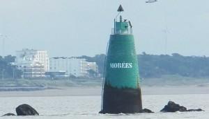 La tourelle des Morées sous sa forme définitive depuis 1777