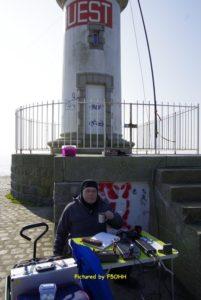 Activation radio Jetée Ouest de Saint Nazaire