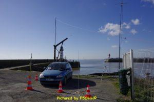 Activation radio Jetée Est de Saint Nazaire