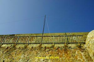 Le Dipôle 40m et son mât en fibre