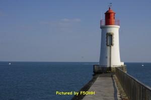 Petit phare de la Jetée St Nicolas