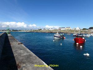 Bateaux de pêche et le Shelter Môle