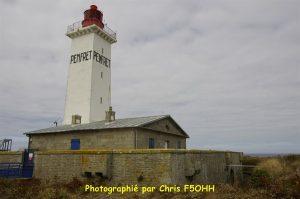 Le phare, le fort et maison des gardiens