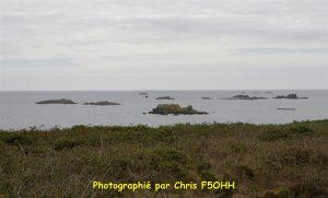 La Baie vue du phare de Penfret
