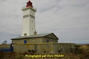 Le phare est construit sur un fort militaire
