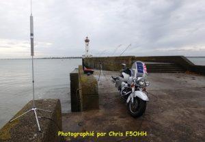 L'antenne MP1 devant le Vieux Môle