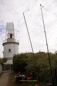 Phare de l'Aiguillon et station radio