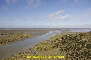 Basse mer sur la Baie de Bourgneuf