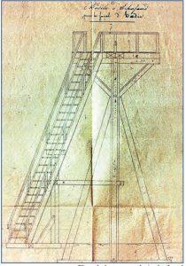 Premier fanal de l'île d'Hoëdic 1831