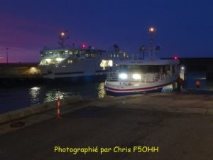 Le bateau de 08h15 un 03 Février