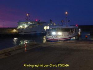 Notre navire vers Hoëdic,