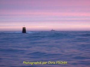 Le phare de La Teignouse un matin d'hiver