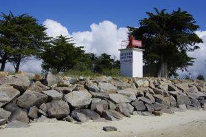 Le banc de sable à BM