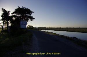 Le Falleron au lever du jour plein Est