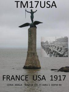 Monument dédié aux troupes américaines