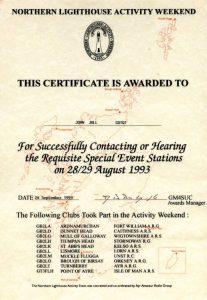 Premier évènement en 1993