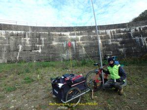 Vue plein Sud du barrage
