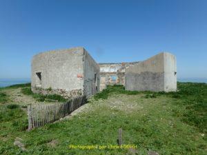 Les restes du fort rond