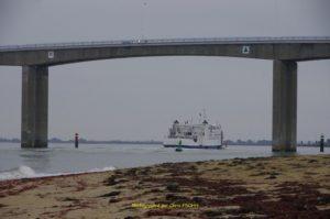 Le pont 800 m de longueur depuis 1970