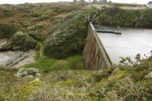 Barrage de Melin depuis 1967
