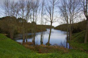 Retenue d'eau de 2 hectares