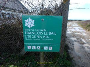 Deux réserves François Le Bail sur l'île