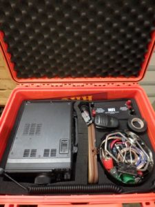 IC7100, Booster MFJ, filerie