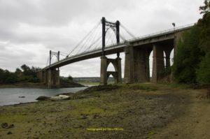 Pont suspendu de Lézardrieux