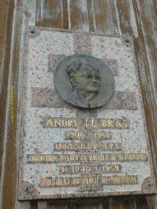 à la mémoire d' André Le Bras