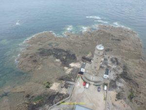 Premier phare de 1775, transformé en sémaphore