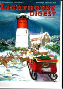 Lighthouse Digest célèbre revue sur les phares, historiques et actuels Bimensuelle