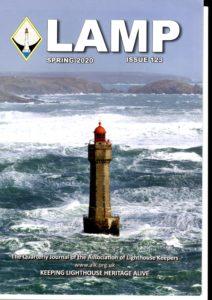"""""""Lamp"""" revue trimestrielle Anglaise sur les phares, les femmes et les hommes s'y rapportant"""