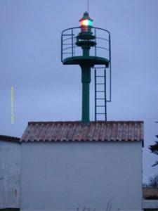 Pointe du Devin, secteurs rouge, blanc et vert
