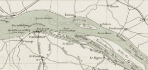 *Carte marine de Nantes à St Nazaire 1896