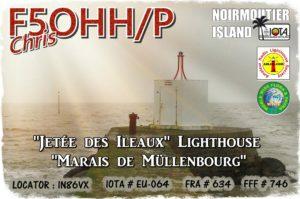 Jetée des îlots Noirmoutier
