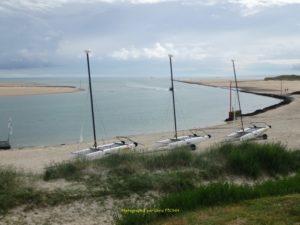 Havre de Portbail vu de la Caillourie